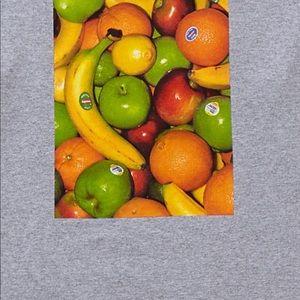 Supreme Shirts - Supreme Fruits Men's Tee Shirt Size XL Grey